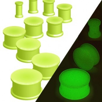 Glow In The Dark Silicone Ear Plug